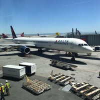 Photo taken at Gate 41 by Tom F. on 5/1/2017