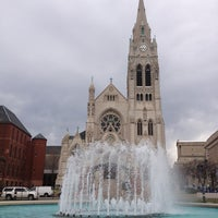 Photo taken at Saint Francis Xavier College Church by Tom F. on 4/6/2013