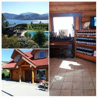 Photo taken at Blasted Church Winery by John on 8/1/2014