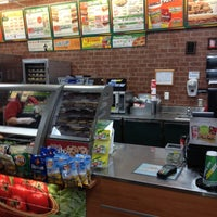 Photo taken at Subway by Allie S. on 2/18/2013