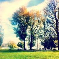 Photo taken at Landiwiese by Falk L. on 10/24/2013