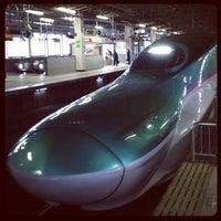 Photo taken at Shinkansen Sendai Station by ykr_gnn on 11/23/2012