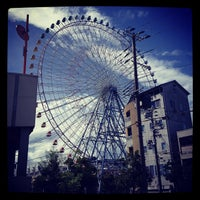 Photo taken at Tempozan Giant Ferris Wheel by ykr_gnn on 9/17/2012
