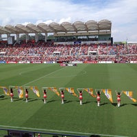 Photo taken at IAI Stadium Nihondaira by ykr_gnn on 9/29/2012