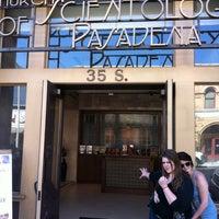 Photo taken at Church of Scientology of Pasadena by Fernando O. on 4/20/2013
