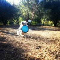 Photo taken at Dog Park at Villa Chanticleer by Mark M. on 12/6/2012