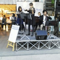 Photo taken at Yamano Music Ginza by Momma M. on 11/3/2012