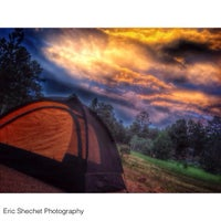 Photo taken at Moraine Park Campground by Eric S. on 7/25/2014