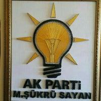 Photo taken at Ak Parti ERGANİ İlçe Başkanlığı by Oktay T. on 11/25/2015