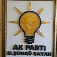Photo taken at Ak Parti ERGANİ İlçe Başkanlığı by Oktay T. on 11/24/2015