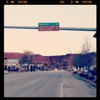 Photo taken at Kanab, UT by Melissa S. on 2/2/2013