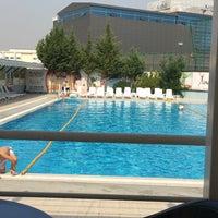 Photo taken at Asya Spor Merkezi Yüzme Havuzu by Ayşegül Z. on 9/9/2016