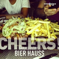 Photo taken at Bier Haus by Guto C. on 1/13/2013