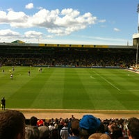 Photo taken at Carrow Road by Martin M. on 5/4/2013