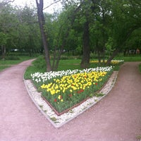 Photo taken at Сквер на Алымова by Yuri G. on 5/17/2013