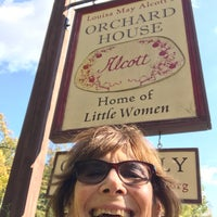 Photo taken at Louisa May Alcott's Orchard House by Susan A. on 10/19/2016