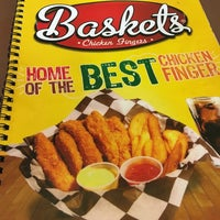 Photo taken at Baskets (Chicken Fingers) by Antonio E. on 6/17/2016