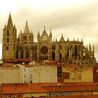 Photo taken at León Cathedral by Manuel L. on 3/11/2013