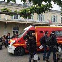 Photo taken at Gare SNCF d'Évian-les-Bains by Touf A. on 6/4/2016