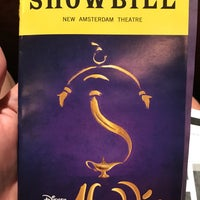 Foto scattata a Aladdin @ New Amsterdam Theatre da Jeremy C. il 8/6/2017