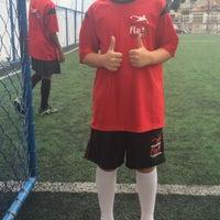 Photo taken at Aquidabola Futebol Society by Lucas C. on 11/25/2015