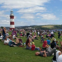 Photo taken at Plymouth Hoe by Laura T. on 6/29/2013