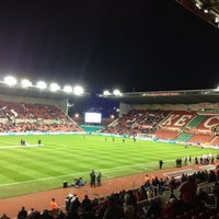 Photo taken at Bet365 Stadium by Ashley L. on 1/29/2013