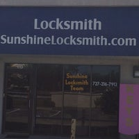Photo taken at Sunshine Locksmith Team, LLC by Garrett W. on 6/12/2014