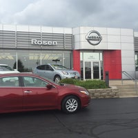 Photo taken at Rosen Nissan Milwaukee by Cristina P. on 7/23/2016