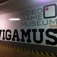 Photo taken at VIGAMUS - The Videogame Museum of Rome by Matteo A. on 10/20/2012