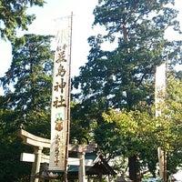 Photo taken at 厳島神社 by こうちゃん on 10/22/2013