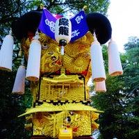 Photo taken at 厳島神社 by こうちゃん on 10/23/2015
