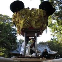 Photo taken at 厳島神社 by こうちゃん on 10/23/2014