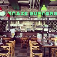 Photo taken at Kraze Burgers by Daniel K. on 5/21/2013