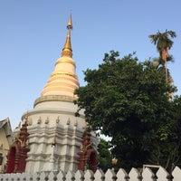 Photo taken at Wat Uppakut by Thoranin T. on 3/3/2017