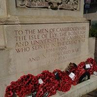 Photo taken at Cambridge War Memorial by Thoranin T. on 7/13/2013
