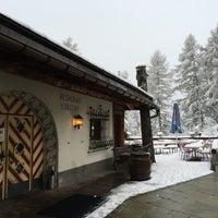 Photo taken at Schatzalp Panorama Restaurant by Thoranin T. on 5/23/2016