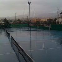 Photo taken at Kalovelonis Pikermi Tennis Club by Karina N. on 10/29/2012