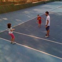 Photo taken at Kalovelonis Pikermi Tennis Club by Karina N. on 10/11/2012