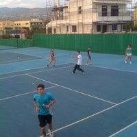 Photo taken at Kalovelonis Pikermi Tennis Club by Karina N. on 10/8/2012