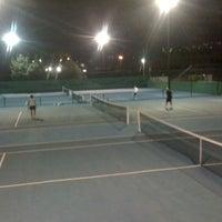 Photo taken at Kalovelonis Pikermi Tennis Club by Karina N. on 10/3/2012