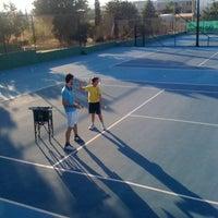 Photo taken at Kalovelonis Pikermi Tennis Club by Karina N. on 10/6/2012