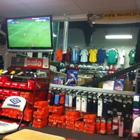 Photo taken at The Soccer Store by Dennis L. on 1/3/2013