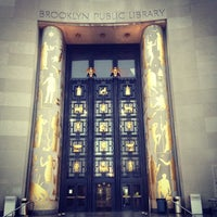 Photo taken at Brooklyn Public Library (Central Library) by Luke W. on 10/19/2012