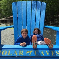 Photo taken at Polar Caves Park by Erica P. on 6/12/2016