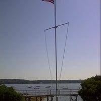 Photo taken at Linekin Bay Resort by Neil M. on 9/5/2014
