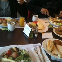 Photo taken at Hotel NH Amsterdam Zuid by Selenay A. on 3/24/2013