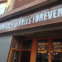 Photo taken at Burgers n' Fries Forever by Ivy O. on 8/19/2013