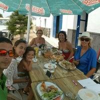 "Photo taken at Bar Restaurante La Caletilla ""Casa Chano"" by Aser M. on 8/11/2015"