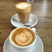 Photo taken at Market Lane Coffee by Jim L. on 2/12/2013